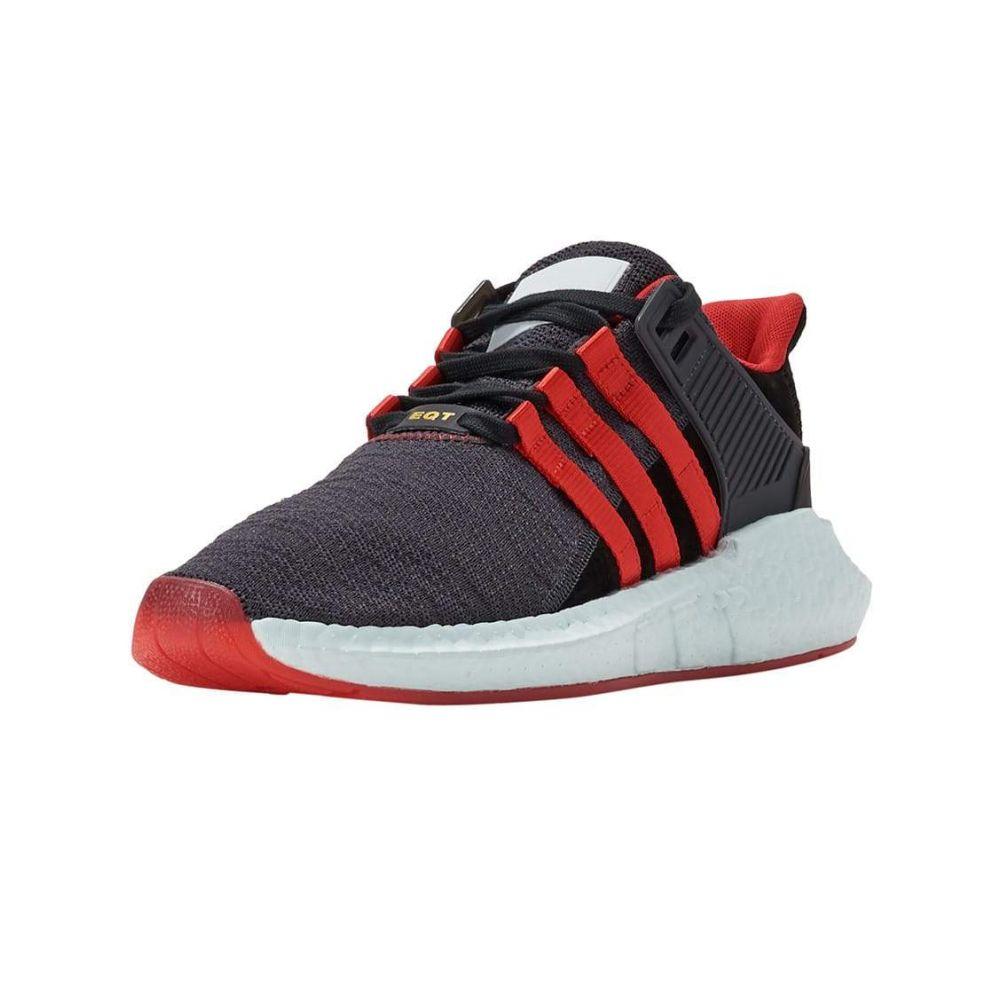 アディダス Adidas メンズ ランニング・ウォーキング シューズ・靴【EQT Support 93-17 Yuanxiao】Black/Red