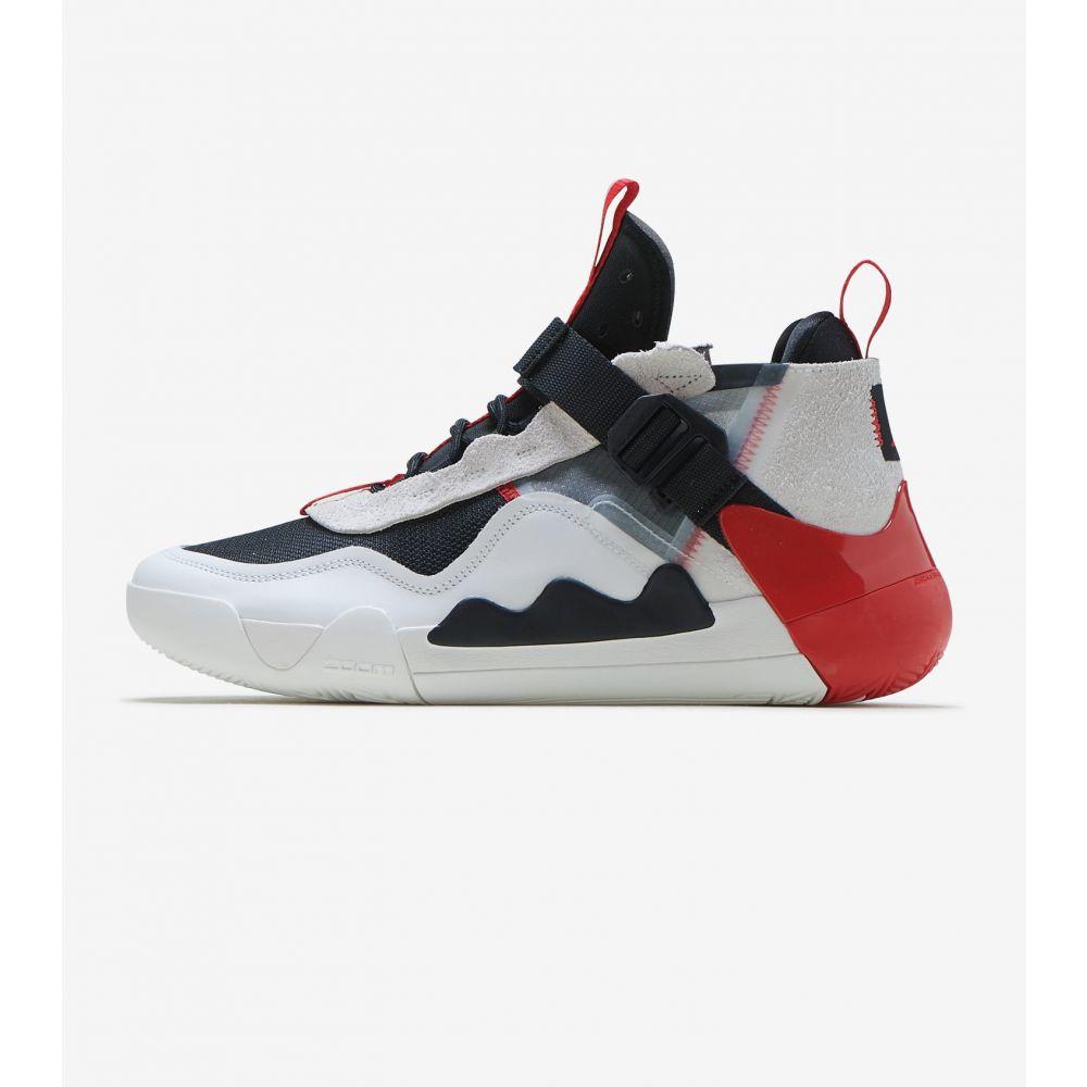 ナイキ ジョーダン Jordan メンズ スニーカー シューズ・靴【Defy JSP】Summit White/Univ Red-Blk