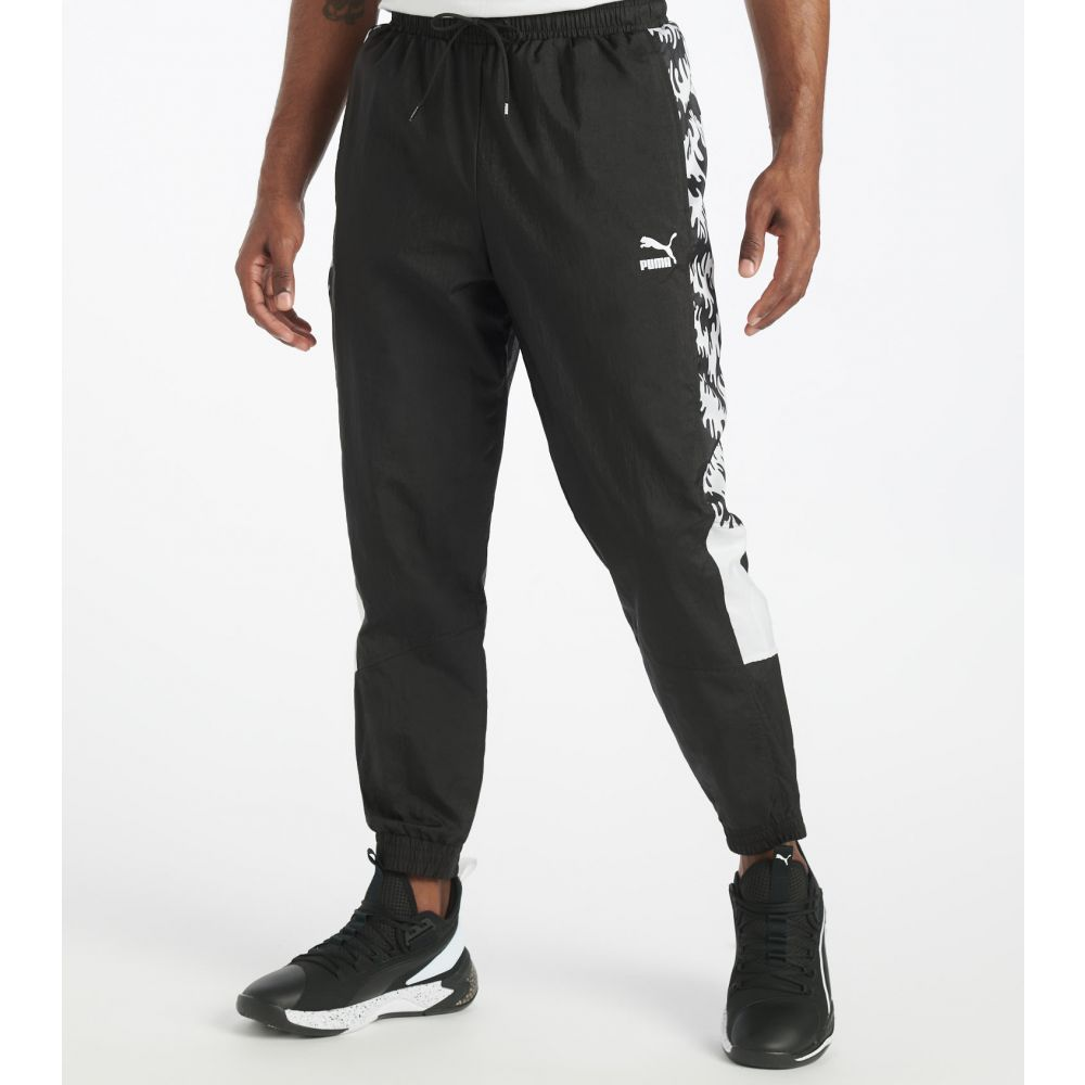 プーマ Puma メンズ スウェット・ジャージ ボトムス・パンツ【TFS OG Track Pants】Puma Black