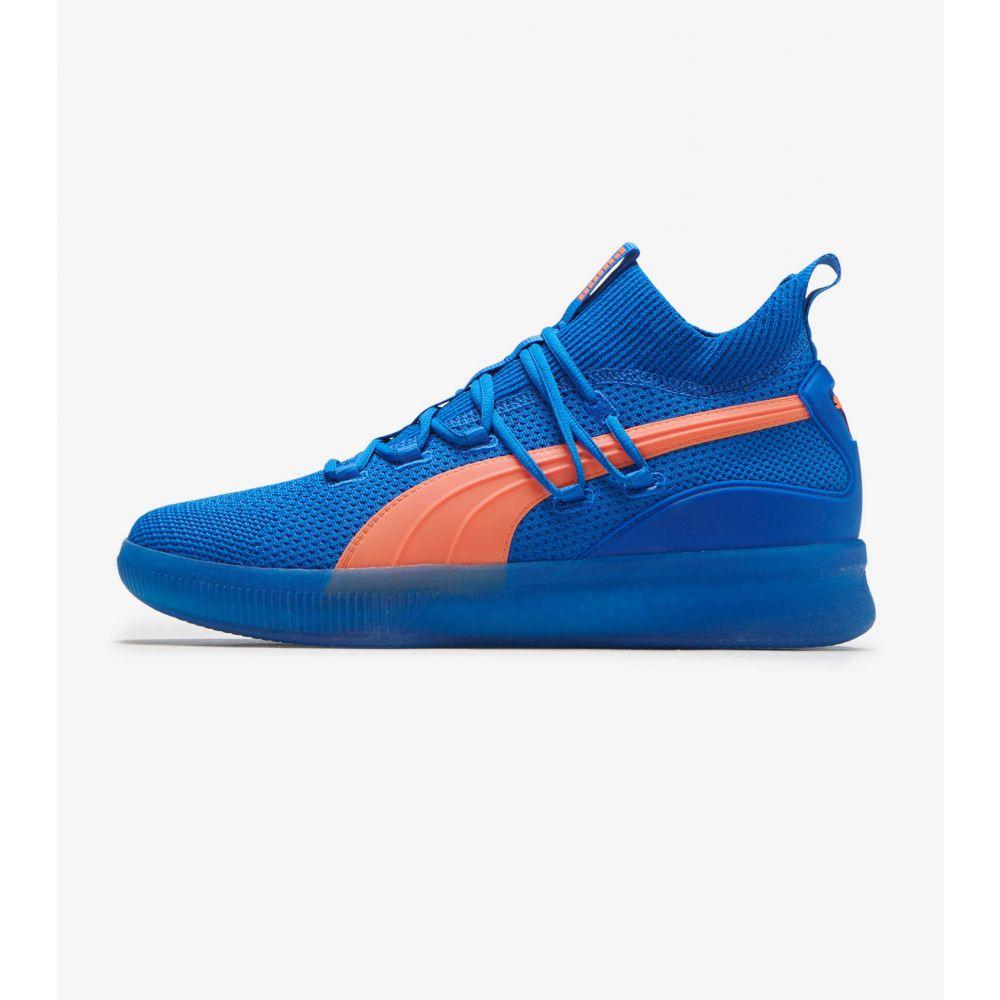 プーマ Puma メンズ スニーカー シューズ・靴【Clyde Court GW】Blue/Orange