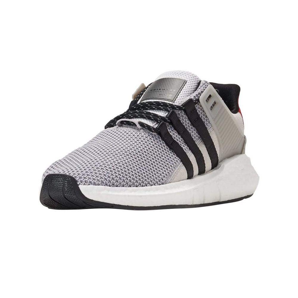 アディダス Adidas メンズ ランニング・ウォーキング シューズ・靴【EQT Support 93/17】Grey/Black/Scarlet