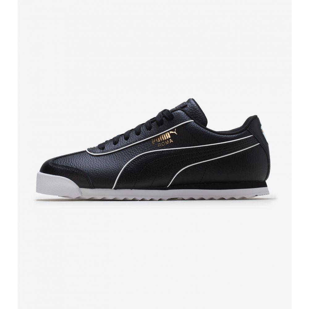 プーマ Puma メンズ シューズ・靴 【Roma】Black/White