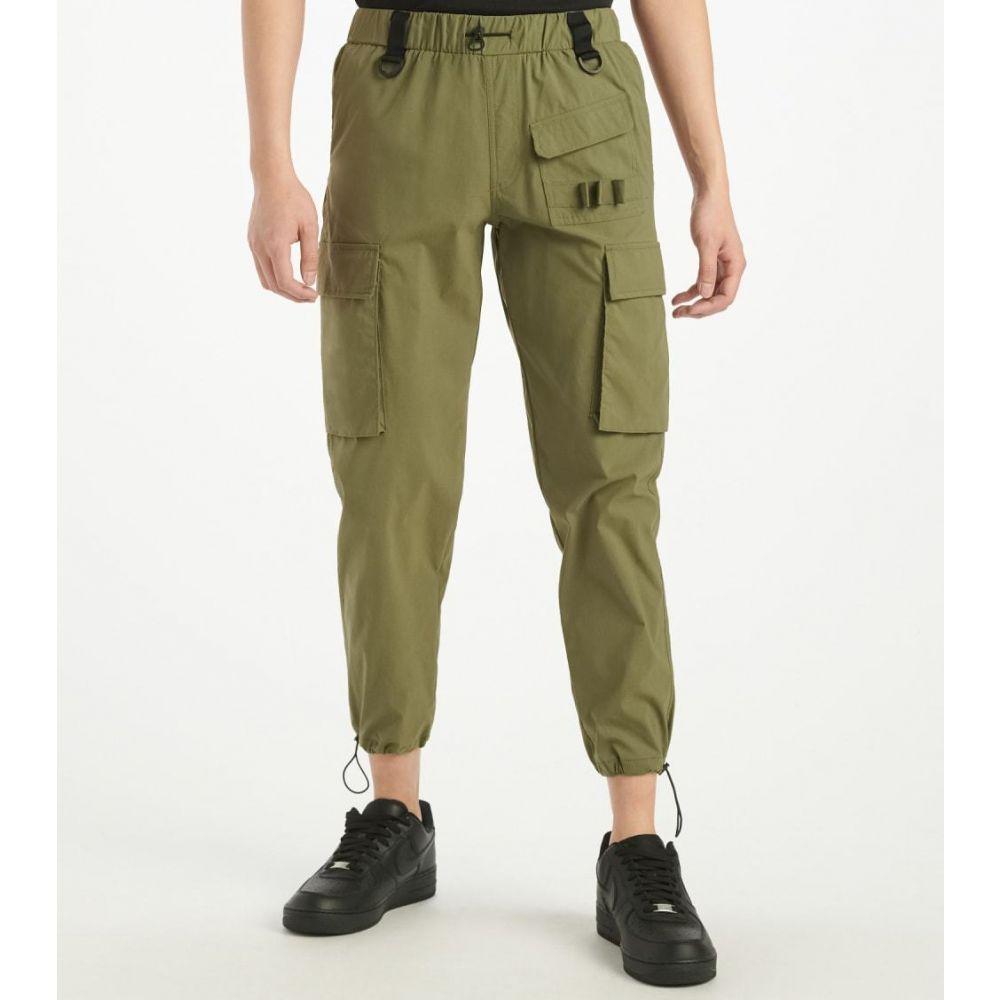 アメリカンスティッチ American Stitch メンズ スウェット・ジャージ ボトムス・パンツ【Utility Pocket Pant】Green