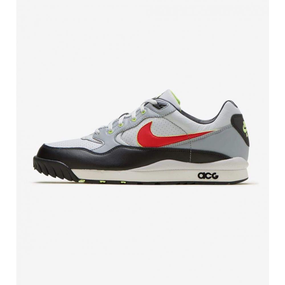 ナイキ Nike メンズ フィットネス・トレーニング シューズ・靴【Air Wildwood ACG】Platinum/Red/Mist Blue/Black
