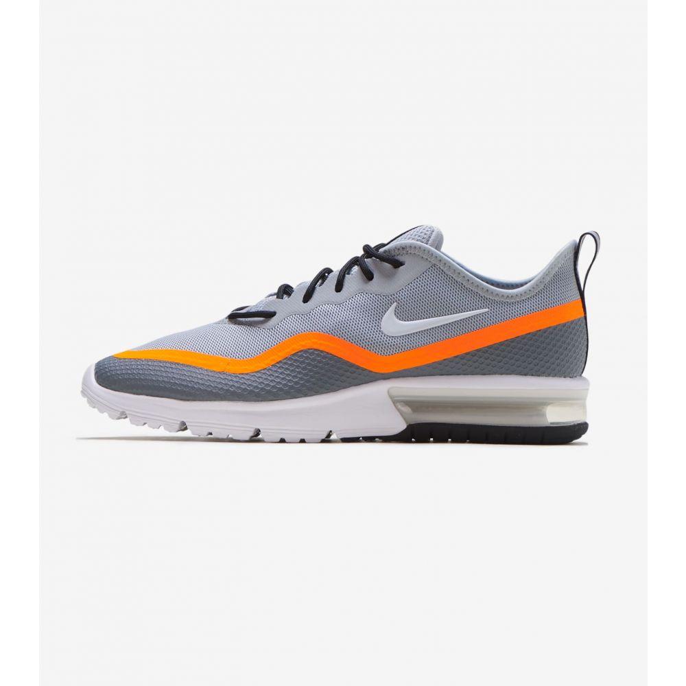 ナイキ Nike メンズ ランニング・ウォーキング エアマックス シューズ・靴【Air Max Sequent 4.5】Grey/Orange