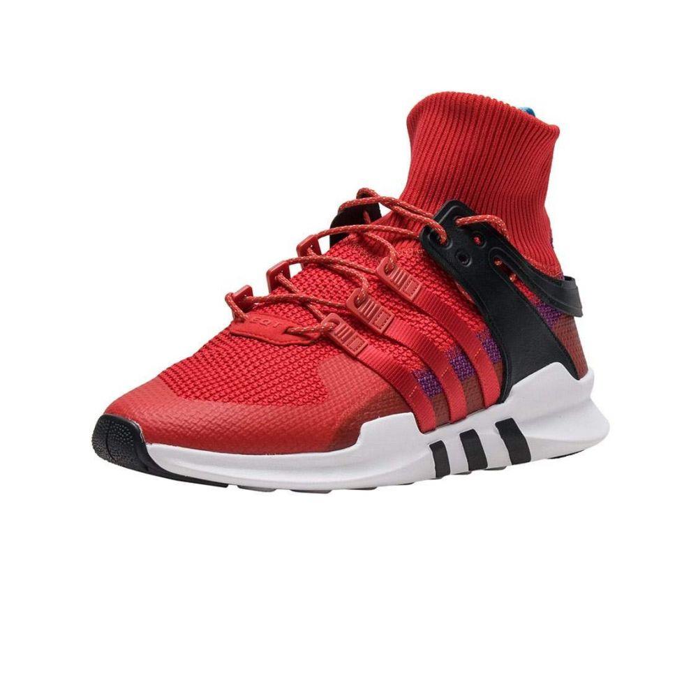 アディダス Adidas メンズ ランニング・ウォーキング シューズ・靴【EQT ADV WINTER】Scarlet/Scarlet/Purple