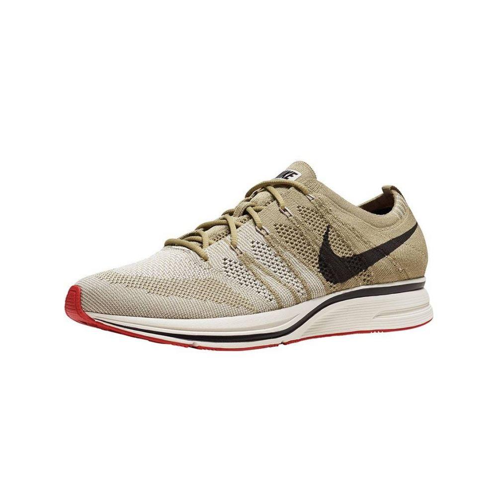 ナイキ Nike メンズ ランニング・ウォーキング シューズ・靴【Flyknit Trainer】Ntrl Olive/Velvet Brown/Sail