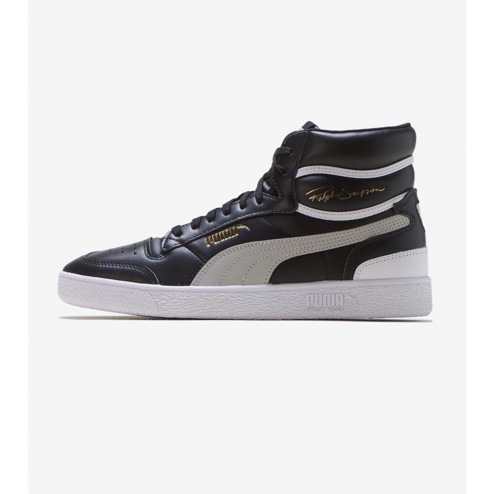 プーマ Puma メンズ スニーカー シューズ・靴【Ralph Sampson Mid】Black/Grey/White