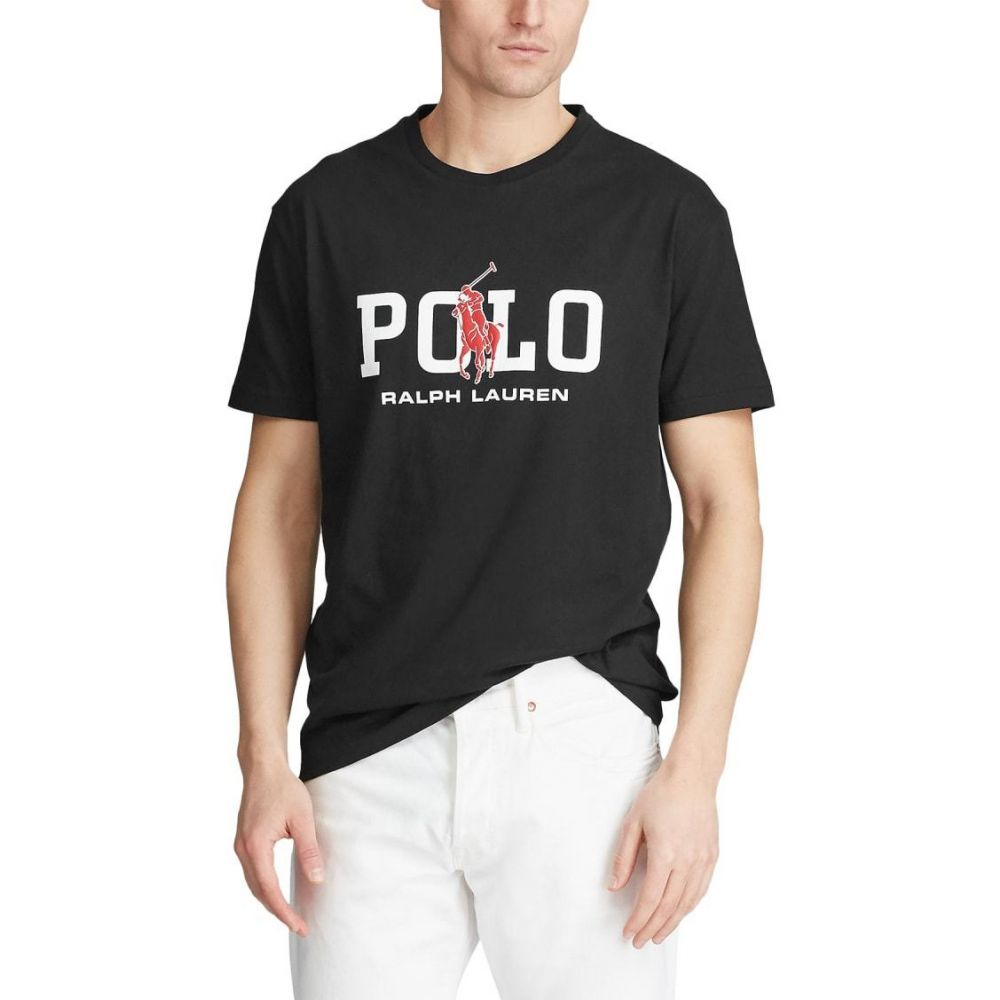 ラルフ ローレン Polo Ralph Lauren メンズ Tシャツ トップス【Classic Fit Graphic T-Shirt】Polo Black