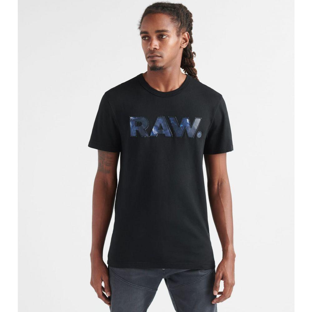 ジースター ロゥ G-Star メンズ Tシャツ トップス【Graphic 5 Tee】Black