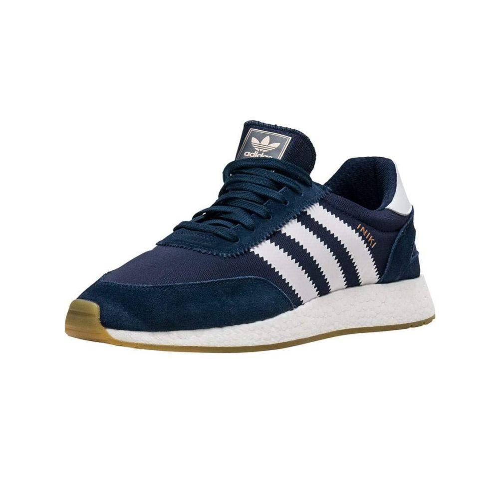 アディダス Adidas メンズ ランニング・ウォーキング スニーカー シューズ・靴【I-5923 Sneaker】Navy/White/Gum