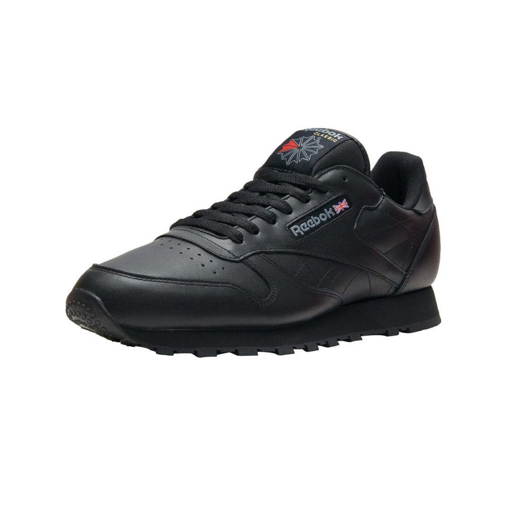 リーボック Reebok メンズ ランニング・ウォーキング シューズ・靴【Classic Leather】Black/Black