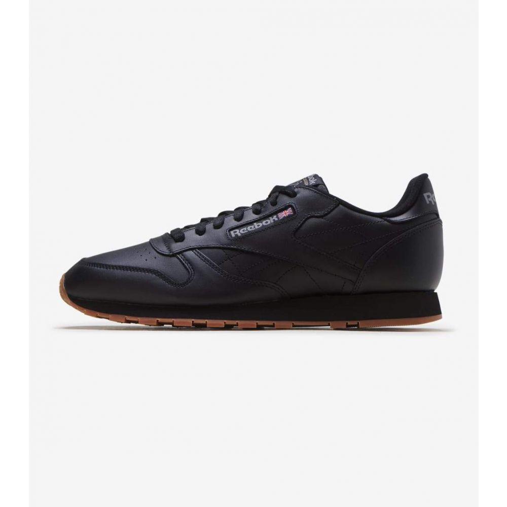 リーボック Reebok メンズ ランニング・ウォーキング シューズ・靴【Classic Leather】Black/Gum