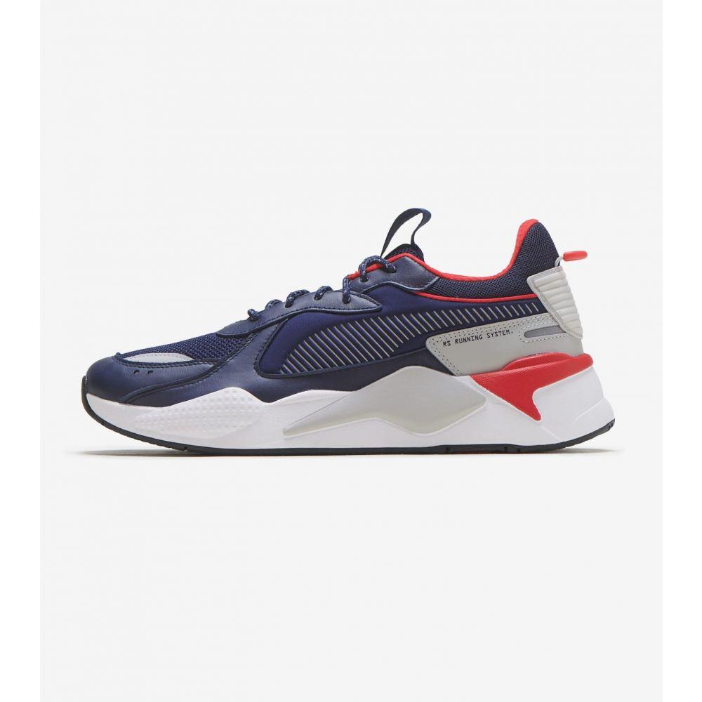 プーマ Puma メンズ ランニング・ウォーキング シューズ・靴【RS-X Core】Navy/Red