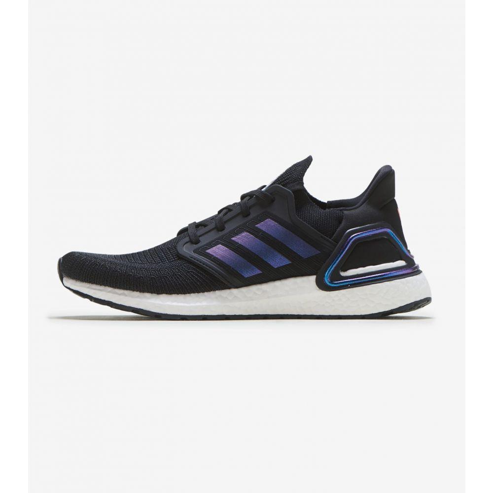 アディダス Adidas メンズ ランニング・ウォーキング シューズ・靴【UltraBOOST 20】Black/Purple