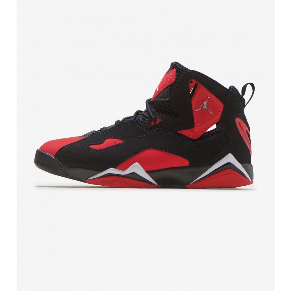 ナイキ ジョーダン Jordan メンズ スニーカー シューズ・靴【True Flight】Black/Red