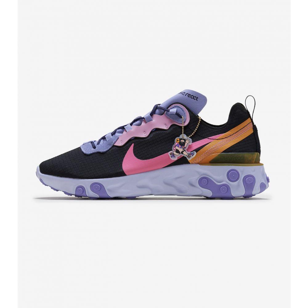 ナイキ Nike メンズ ランニング・ウォーキング シューズ・靴【React Element 55 PRM】Black/Multicolor