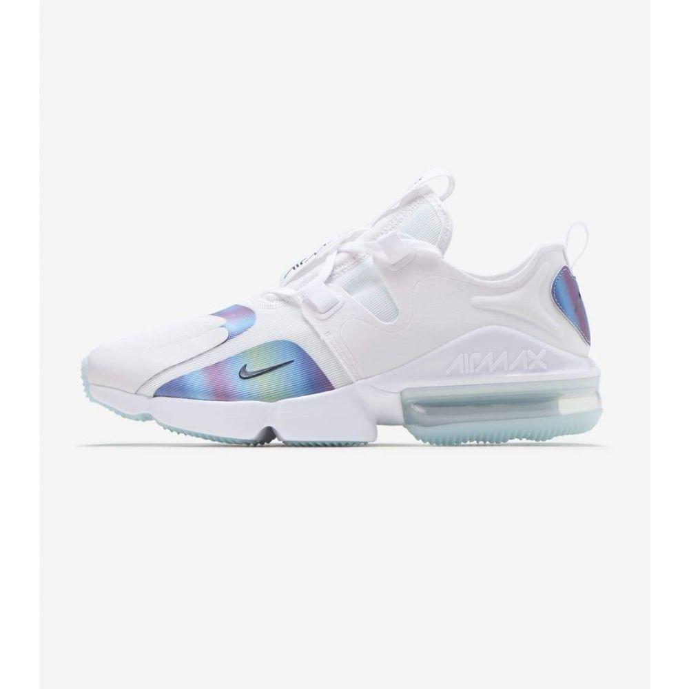 ナイキ Nike メンズ ランニング・ウォーキング シューズ・靴【MAx Infinity】White/Black