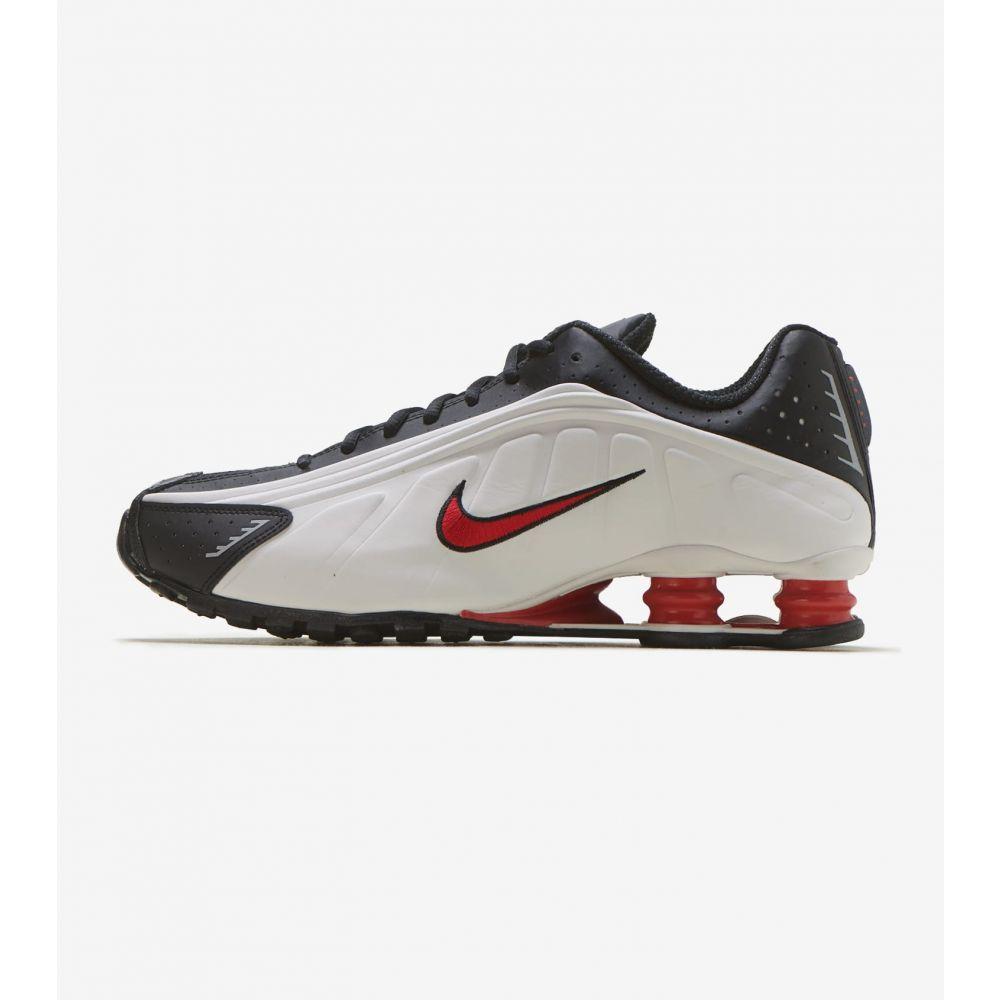 ナイキ Nike メンズ ランニング・ウォーキング シューズ・靴【Shox R4】Platinum/Red