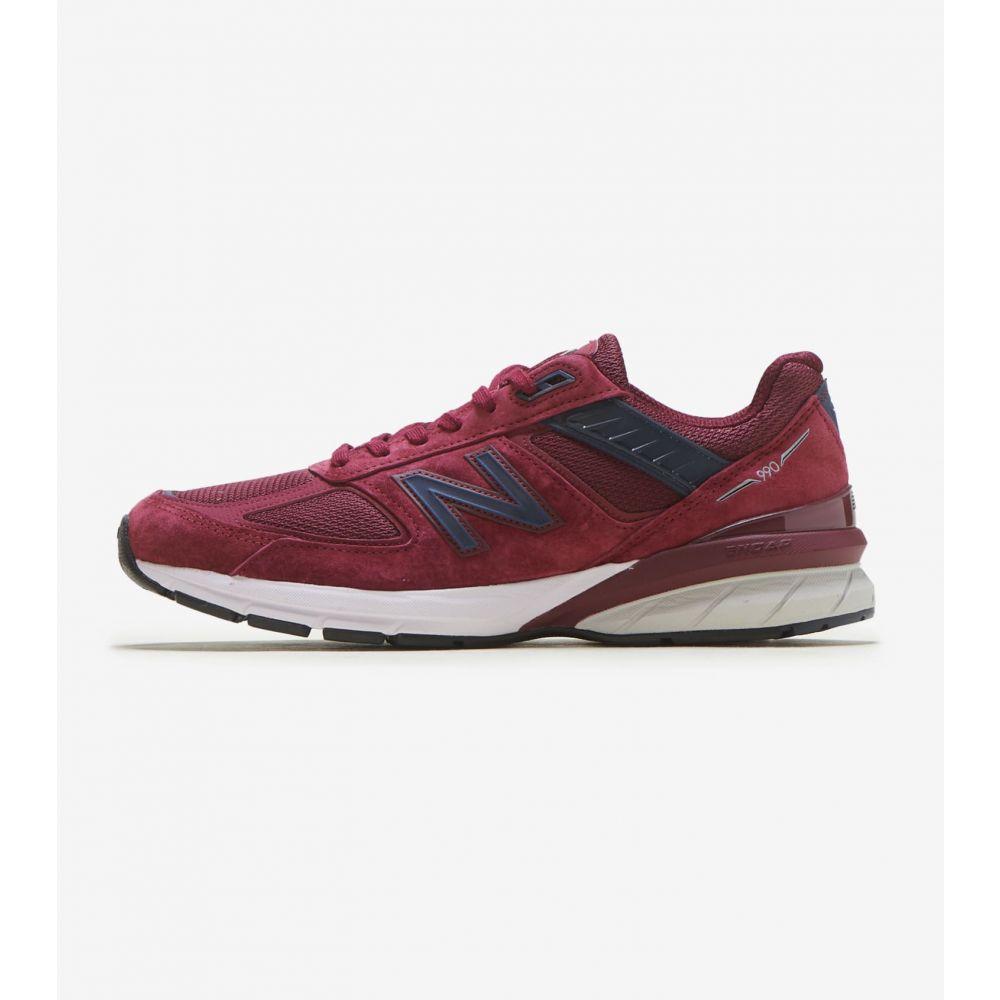 ニューバランス New Balance メンズ ランニング・ウォーキング シューズ・靴【990 V5】Burgundy/Navy