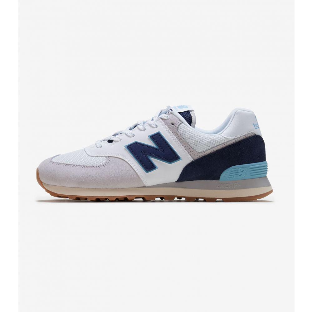 ニューバランス New Balance メンズ ランニング・ウォーキング シューズ・靴【574】Grey/Blue