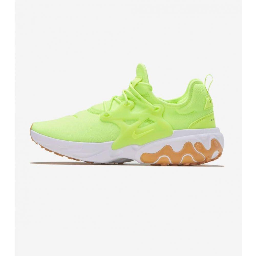 ナイキ Nike メンズ ランニング・ウォーキング シューズ・靴【React Presto】Volt/Gum