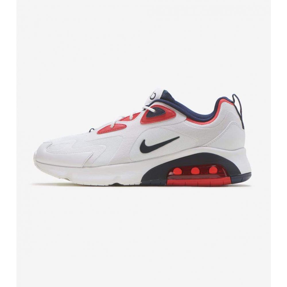 ナイキ Nike メンズ ランニング・ウォーキング シューズ・靴【Air Max 200】White/Navy/Red