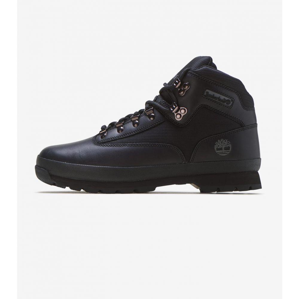 ティンバーランド Timberland メンズ ハイキング・登山 シューズ・靴【Euro Hiker】Black