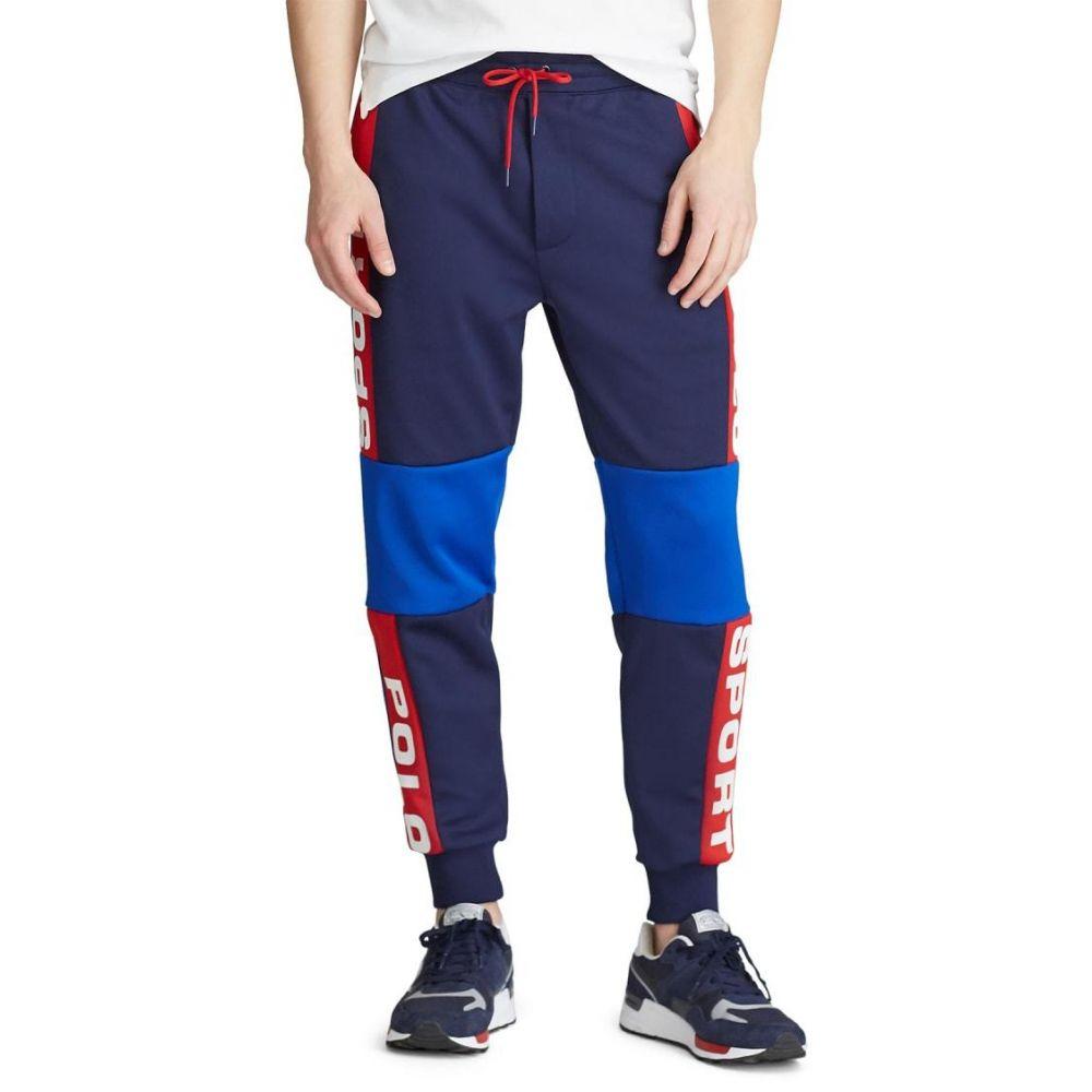 ラルフ ローレン Polo Ralph Lauren メンズ スウェット・ジャージ ボトムス・パンツ【Polo Sport Mesh Track Pant】Newport Navy Multi