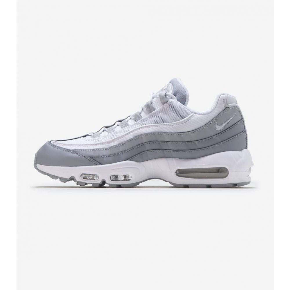 ナイキ Nike メンズ ランニング・ウォーキング シューズ・靴【Air Max 95】Grey/White