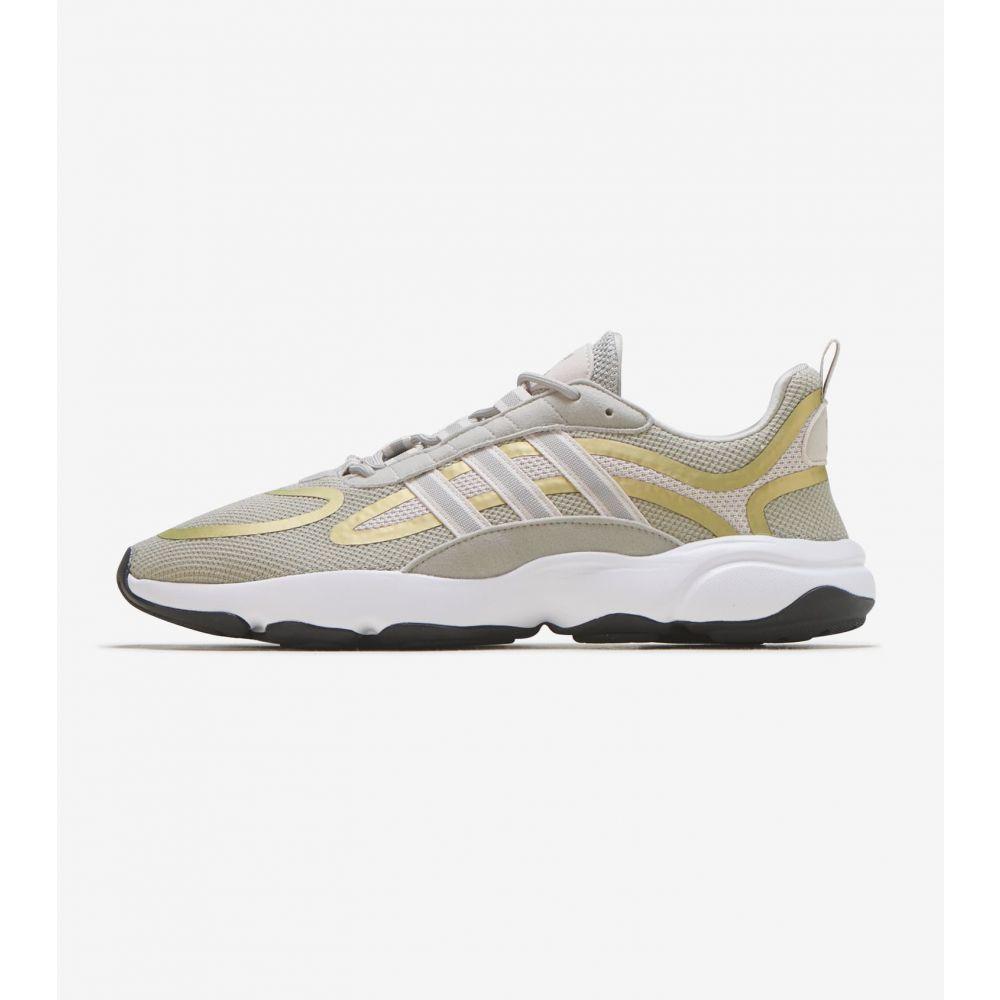 アディダス Adidas メンズ ランニング・ウォーキング シューズ・靴【Haiwee】Khaki/Gold
