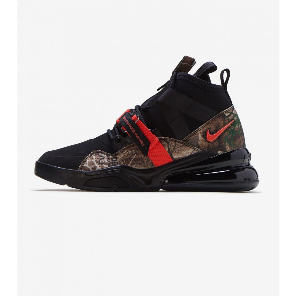 ナイキ Nike メンズ ランニング・ウォーキング シューズ・靴【Air Force 270 Utility RLT】Black/Team Orange/Black