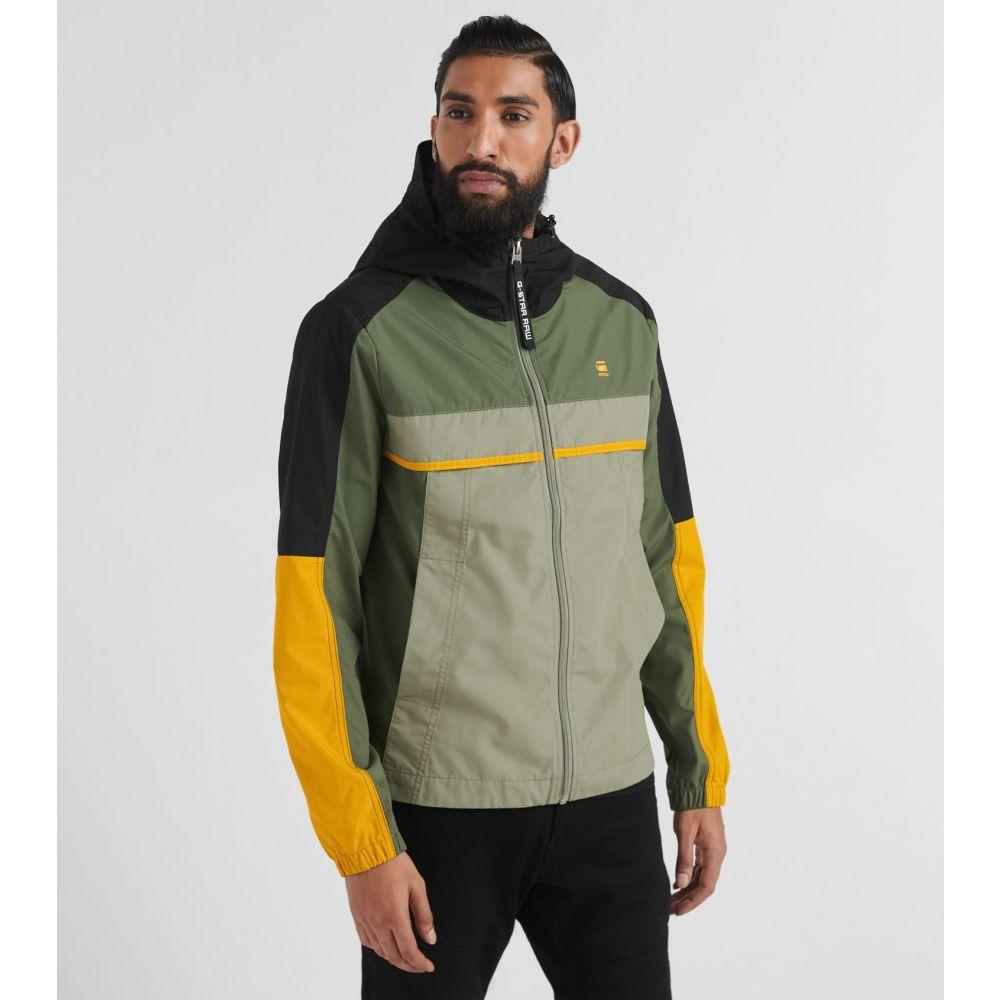 ジースター ロゥ G-Star メンズ ジャケット アウター【Colorblock Jacket】Wild Rovic