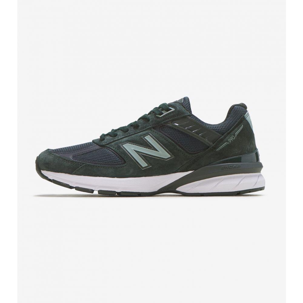 ニューバランス New Balance メンズ ランニング・ウォーキング シューズ・靴【990 V5】Green