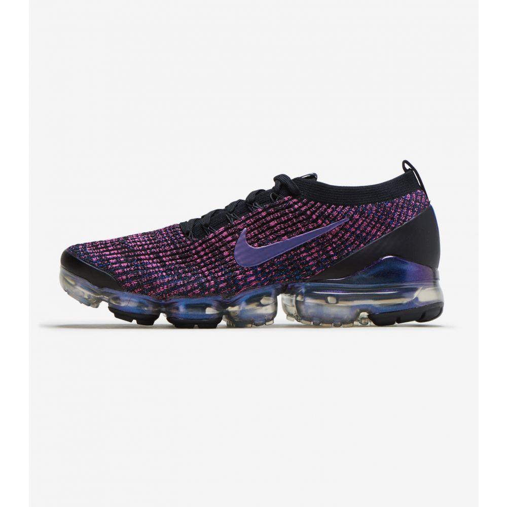 ナイキ Nike メンズ ランニング・ウォーキング シューズ・靴【Air Vapormax Flyknit 3】Black/Pink/Purple