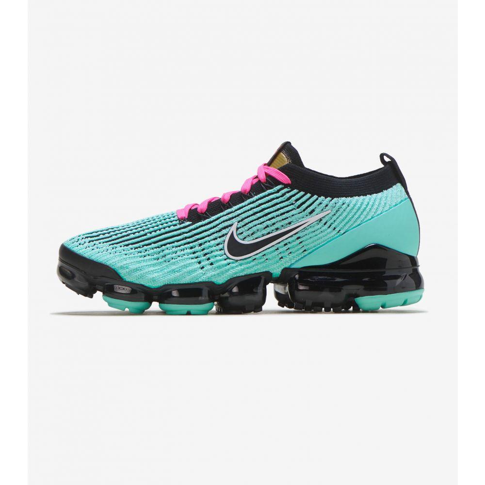 ナイキ Nike メンズ ランニング・ウォーキング シューズ・靴【Air Vapormax Flyknit 3】Hyper Turquoise/Black/Pink