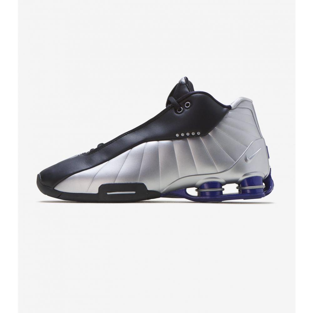ナイキ Nike メンズ スニーカー シューズ・靴【Shox BB4】Black/Metallic Silver-Lapis