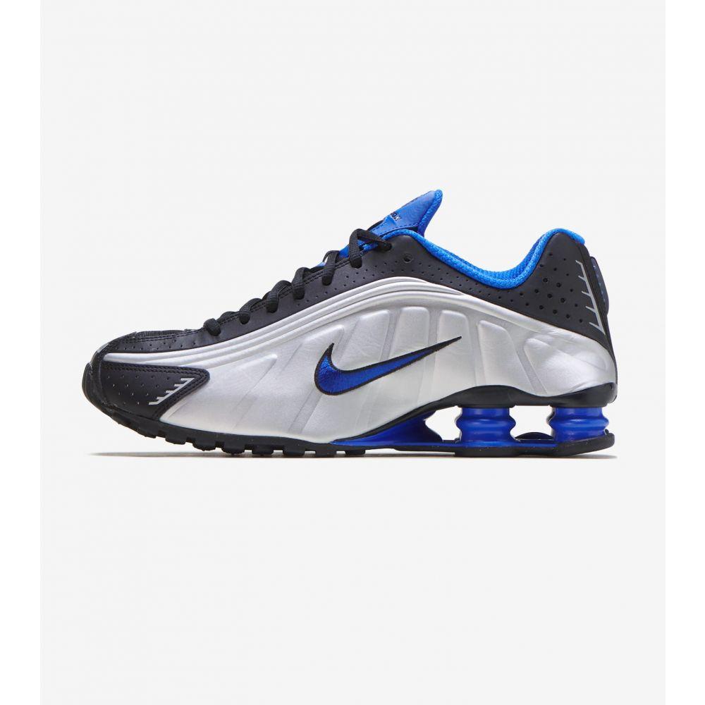 ナイキ Nike メンズ ランニング・ウォーキング シューズ・靴【Shox R4】Black/Racer Blue