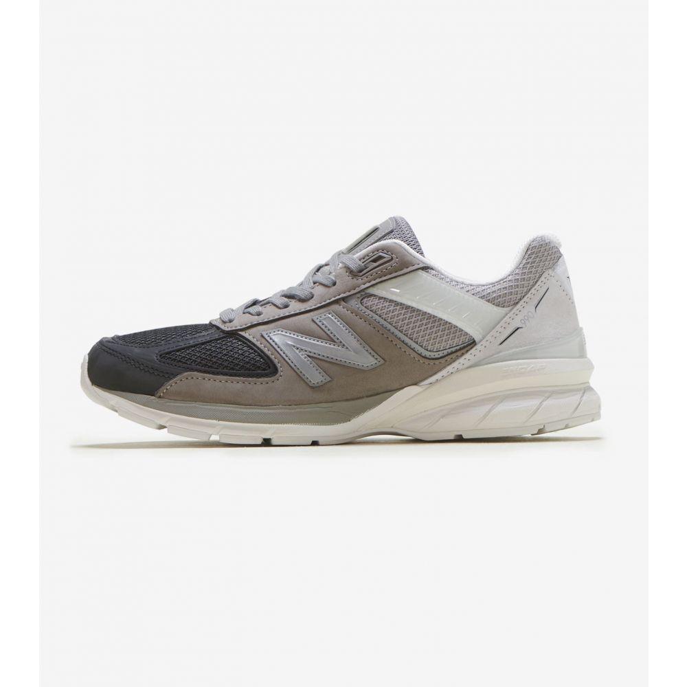 ニューバランス New Balance メンズ ランニング・ウォーキング シューズ・靴【990 V5】Black/Marblehead