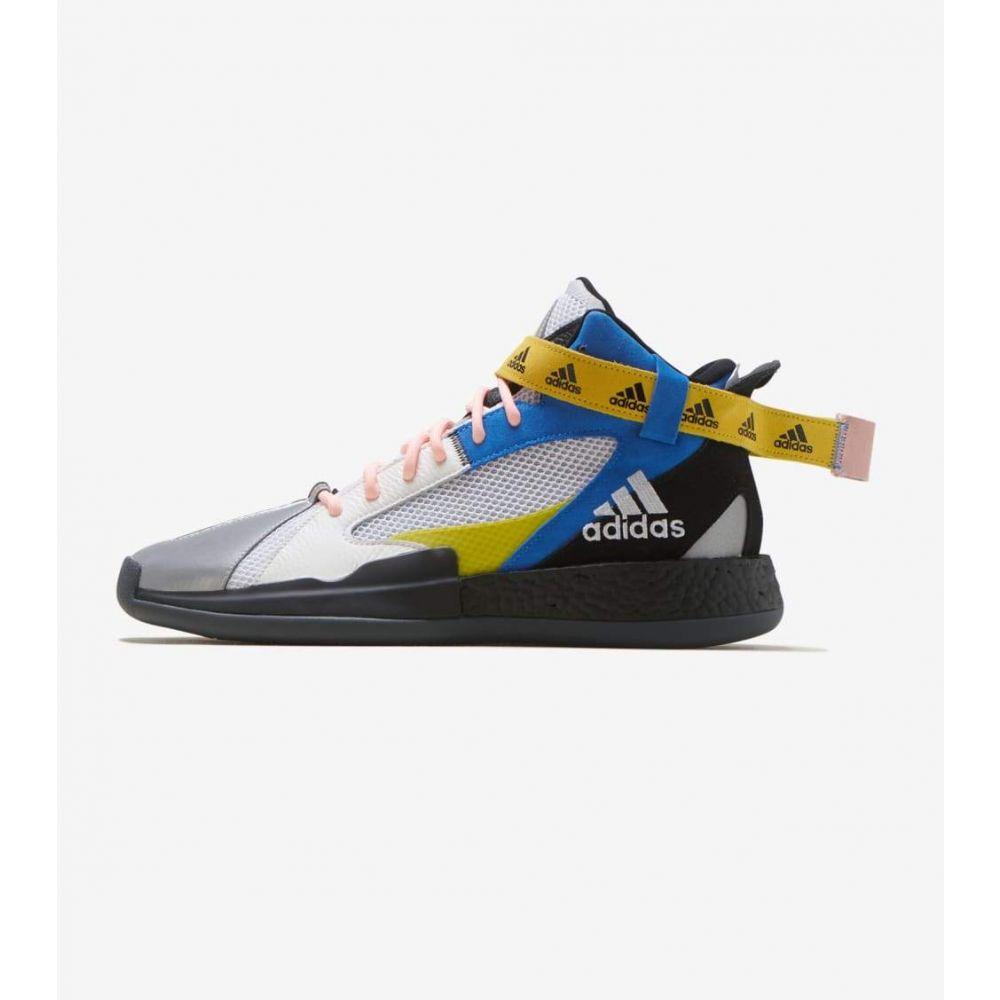 アディダス Adidas メンズ フィットネス・トレーニング シューズ・靴【Posterize】Black/White/Yellow