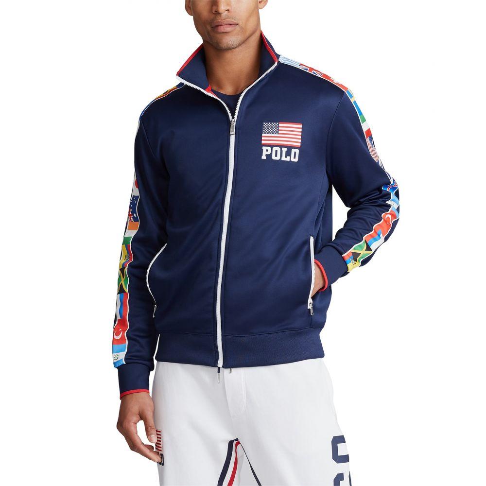 ラルフ ローレン Polo Ralph Lauren メンズ フリース トップス【Tricot Fleece Jacket】Newport Navy