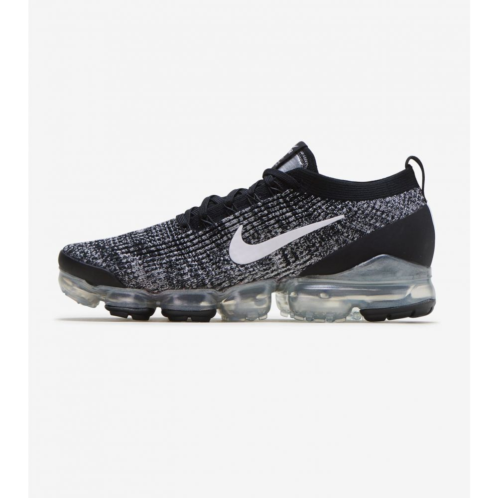 ナイキ Nike メンズ ランニング・ウォーキング シューズ・靴【Air Vapormax Flyknit 3】Black/White/Metallic Silver