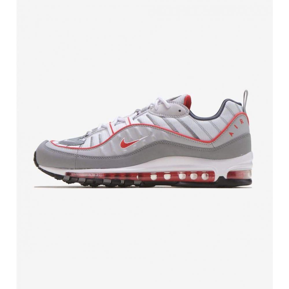 ナイキ Nike メンズ ランニング・ウォーキング シューズ・靴【Air Max 98】Grey/Red