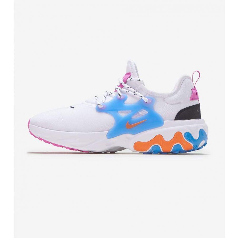 ナイキ Nike メンズ ランニング・ウォーキング シューズ・靴【React Presto】White/Multi