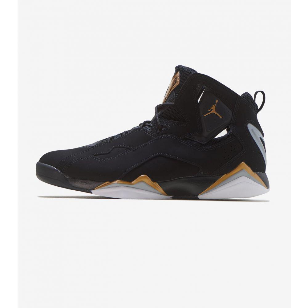 ナイキ ジョーダン Jordan メンズ スニーカー シューズ・靴【True Flight】Black/Gold