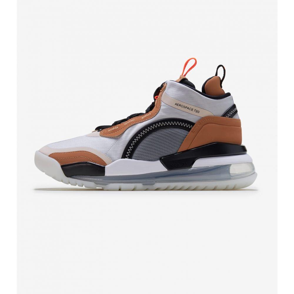 ナイキ ジョーダン Jordan メンズ スニーカー シューズ・靴【Aerospace 720】Grey/Brown/Crimson