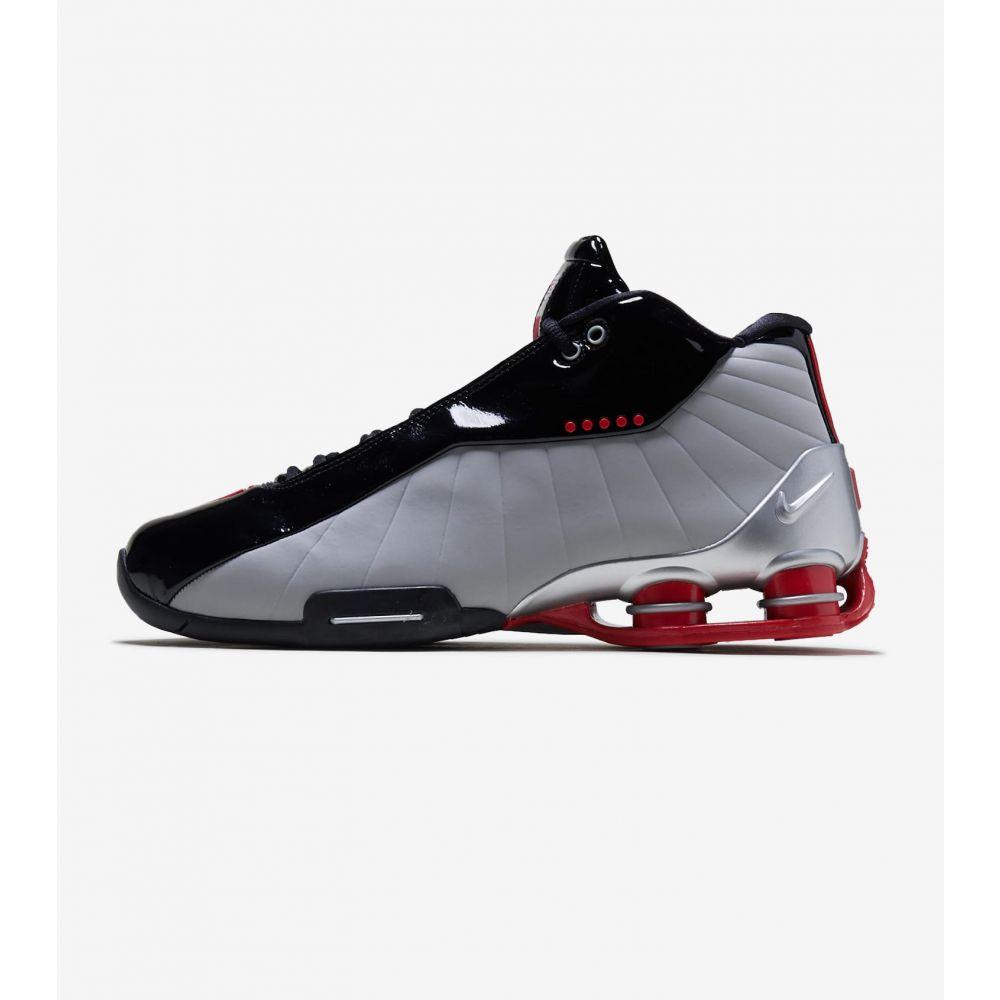ナイキ Nike メンズ スニーカー シューズ・靴【Shox BB4】Black/Silver/Red