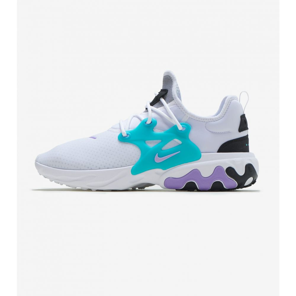 ナイキ Nike メンズ ランニング・ウォーキング シューズ・靴【React Presto】White/Maroon/Black/Atomic Violet
