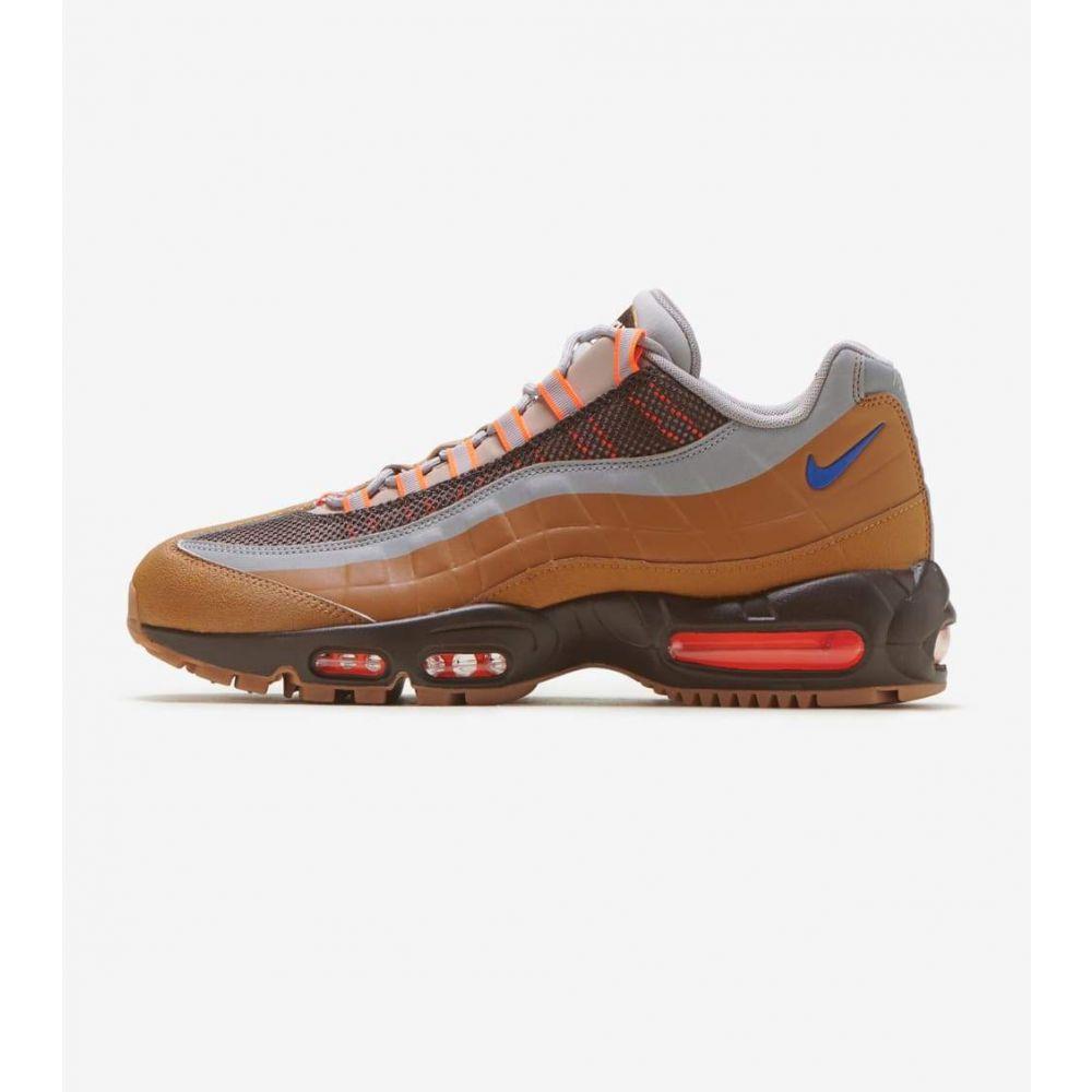 ナイキ Nike メンズ ランニング・ウォーキング シューズ・靴【Max 95 Utility】Beige/Grey/Orange