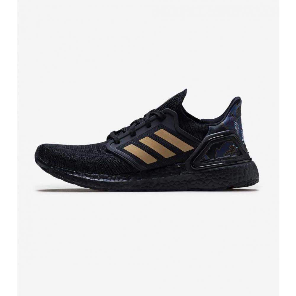 アディダス Adidas メンズ ランニング・ウォーキング シューズ・靴【UltraBOOST 20】Black/Gold